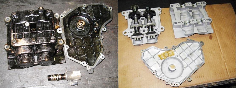 Восстановление механизма ДВС Nissan X-Trail: до и после