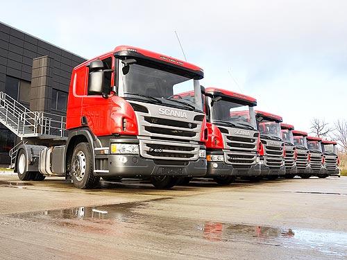 В Краматорске открылся дилерский центр Scania