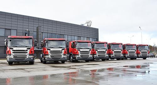 Доставлять легковые автомобили в автосалоны Украины будут на автовозах Scania - Scania