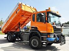 Scania готова поставлять в Украину компактные самосвалы