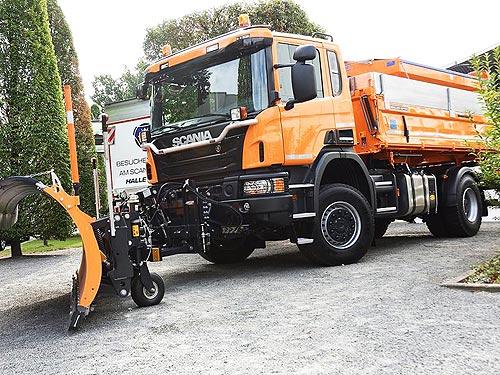 Scania планирует поставлять в Украину компактные самосвалы - Scania
