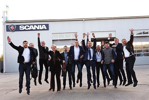 В Полтаве открылся новый дилерский центр Scania - Scania