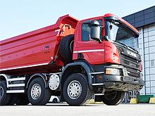 Scania представит самосвалы для строителей