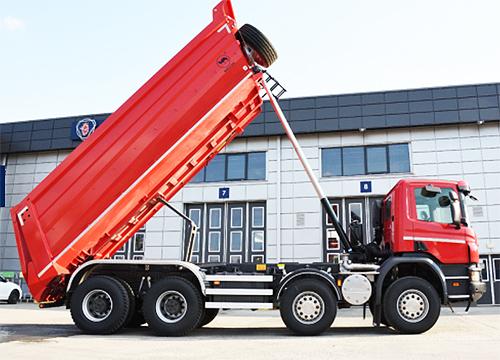 Scania представит самосвалы для строителей - Scania