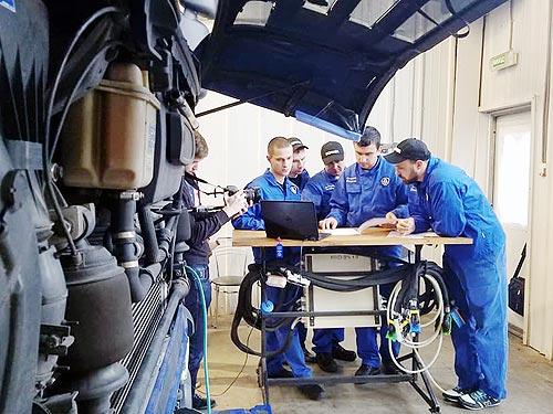 Как «Скания Украина» выращивает лучших автомехаников