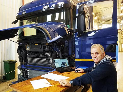 Как «Скания Украина» выращивает лучших автомехаников - Scania
