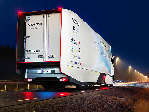 Volvo Trucks разработала гибридный концепт-трак - Volvo