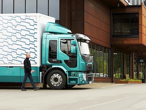 Volvo FE теперь доступен с новым более мощным двигателем - Volvo