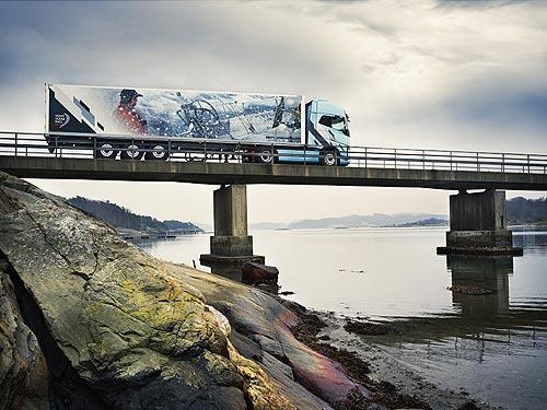 Грузовики Volvo FH и FH16 доступны в лимитированной версии Volvo Ocean Race Limited Edition - Volvo