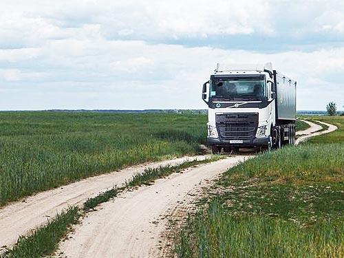 Volvo Trucks представила новый тягач под зерновоз - Volvo