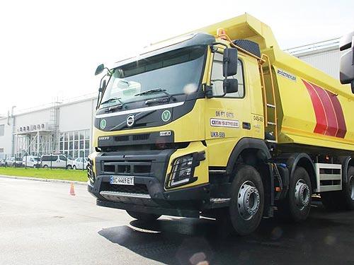2017 год станет рекордным для поставок самосвалов Volvo FMX в Украину - Volvo