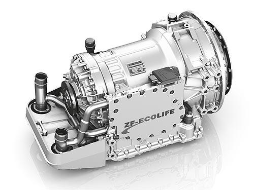 Выпущена стотысячная автоматическая коробка передач ZF EcoLife - ZF