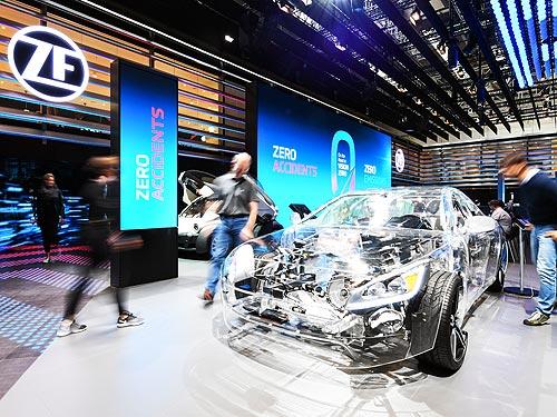 ZF приняла участие во Франкфуртском автосалоне - ZF