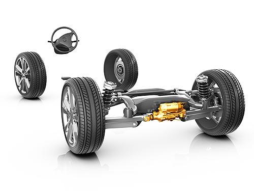 ZF стал лидером по выпуску систем активного управления задней осью автомобиля - ZF