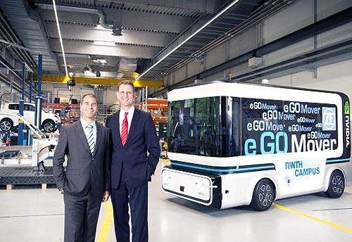 ZF развивает беспилотные автомобили для перевозки людей и грузов