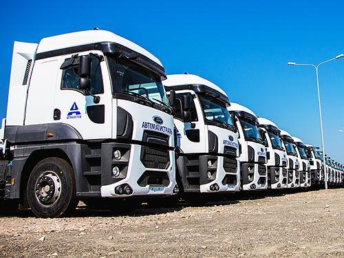 Украинский рынок грузовиков в декабре вырос на 14,5%