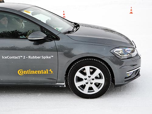 Состоялась мировая премьера принципиально новых шипов Continental Rubber Spike - Continental