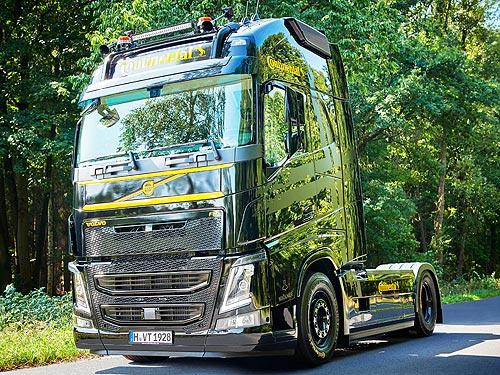 Какие инновационные технологии Continental воплощены в грузовике Volvo FH