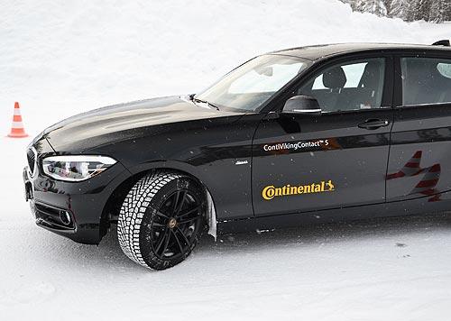 Зимние шины против электронных помощников: тест новинок от Continental - Continental