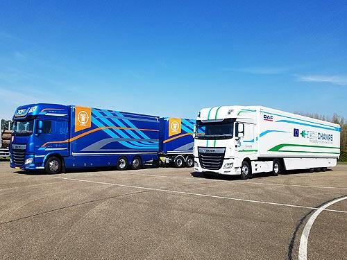 DAF показал, как планирует еще больше снизить расход топлива на своих грузовиках