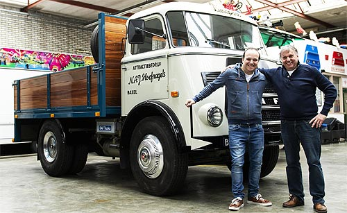 В Европе нашли старейший грузовик DAF, который до сих пор эксплуатируется