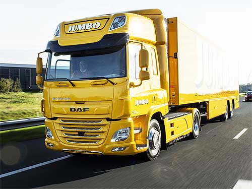 DAF поставила свой первый полностью электрический грузовик CF Electric