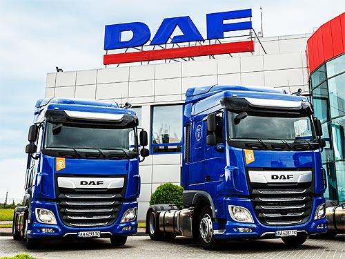 DAF наращивает поставки грузовиков Евро-6 в Украину