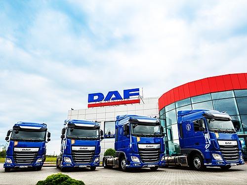DAF наращивает поставки грузовиков Евро-6 в Украину - DAF