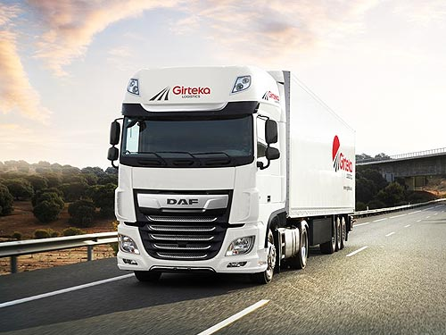 Ведущий европейский перевозчик заказал 500 автомобилей DAF XF