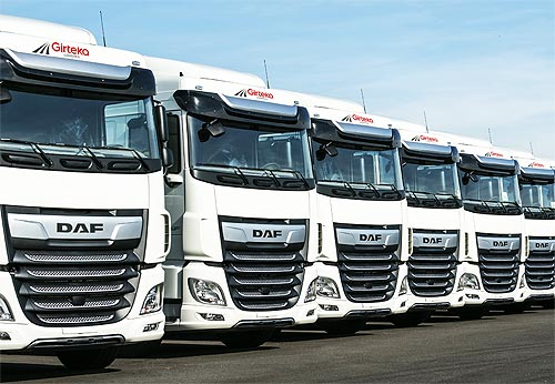 Ведущий европейский перевозчик заказал дополнительно 1500 грузовиков DAF XF