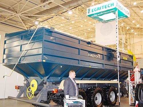 Egritech представил 40-кубовый бункер-перегрузчик