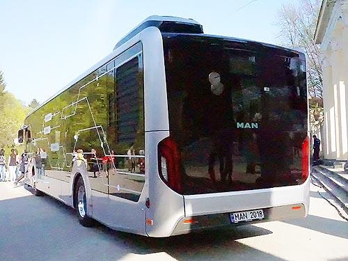 MAN готовит революцию в городских перевозках Украины - MAN