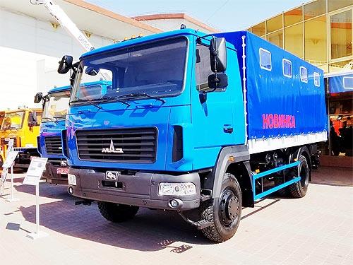МАЗ представил в Украине легкий полноприводный грузовик - МАЗ