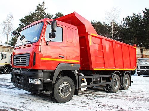 МАЗ к сезону подготовил специальные версии для строительной отрасли - МАЗ