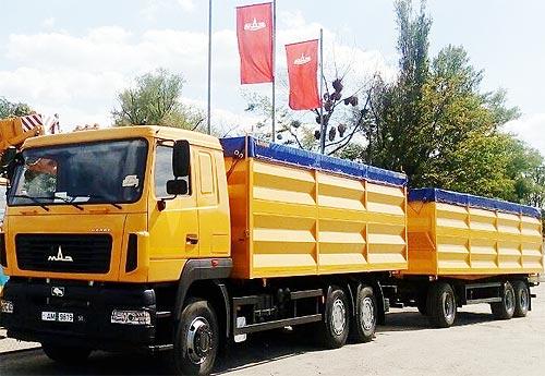 Автопоезд-зерновоз МАЗ 6501 доступен по специальное цене