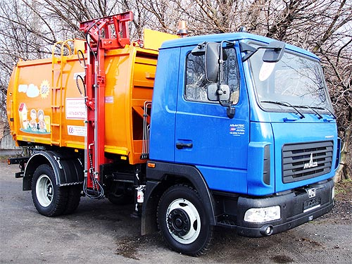 В Украине появился еще один производитель коммунальной техники - коммунал