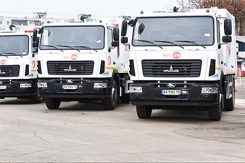 Украинский рынок грузовиков продолжает расти