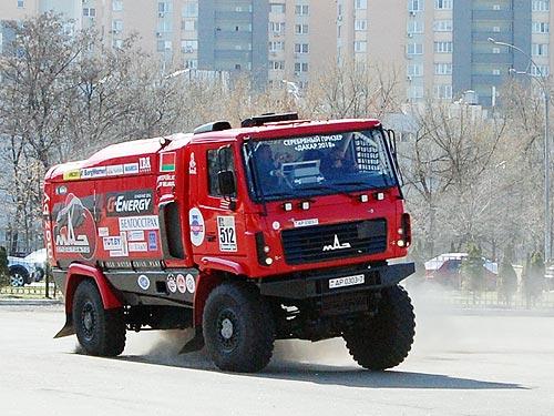 МАЗ представит в Киеве новинки и «дакаровский» грузовик