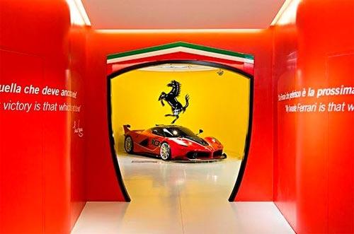 Самые яркие автомобили музея Ferrari. Наш репортаж - Ferrari
