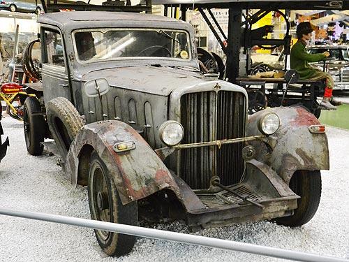 Привычные автомобили с необычными техническими решениями. Наш репортаж - музей