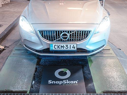 Nokian Tyres расширяет сервис SnapSkan - Nokian