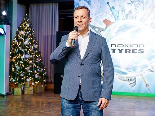 В Украине представлен новый глава представительства Nokian Tyres