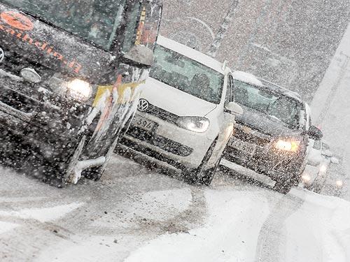 Правильный выбор для эксплуатации автомобиля зимой в Украине – только зимние шины