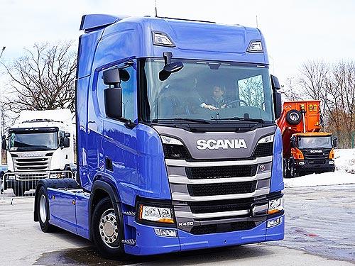 Scania представила в Украине новое поколение грузовиков сразу во всех сегментах