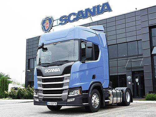 В Украину поставлена первая Scania R500 нового поколения