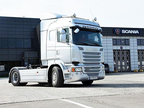 Scania готова поставлять в Украину грузовики в индивидуальной расцветке