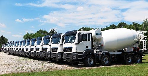 В Украине начались продажи итальянских автобетоносмесителей IMER - бетон