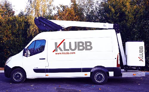 В Украине представят компактные автовышки Klubb - Klubb