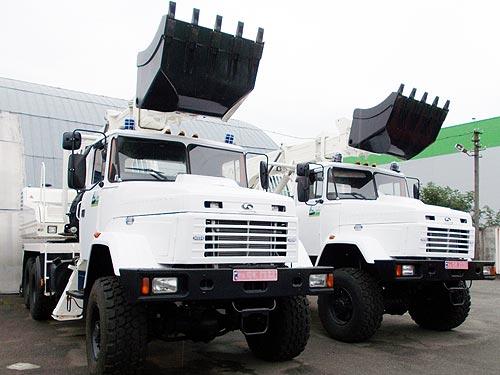 В Украине возобновилось производство автоэкскаваторов