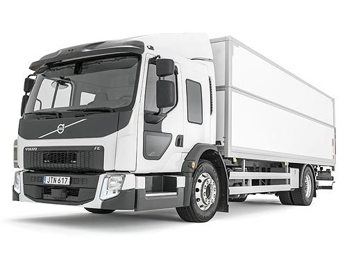 Грузовики Volvo FE усовершенствовали и теперь доступны с газовыми двигателями - Volvo